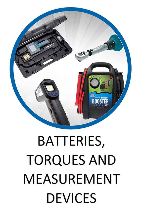 Batteries Torques and Measurement Devices
