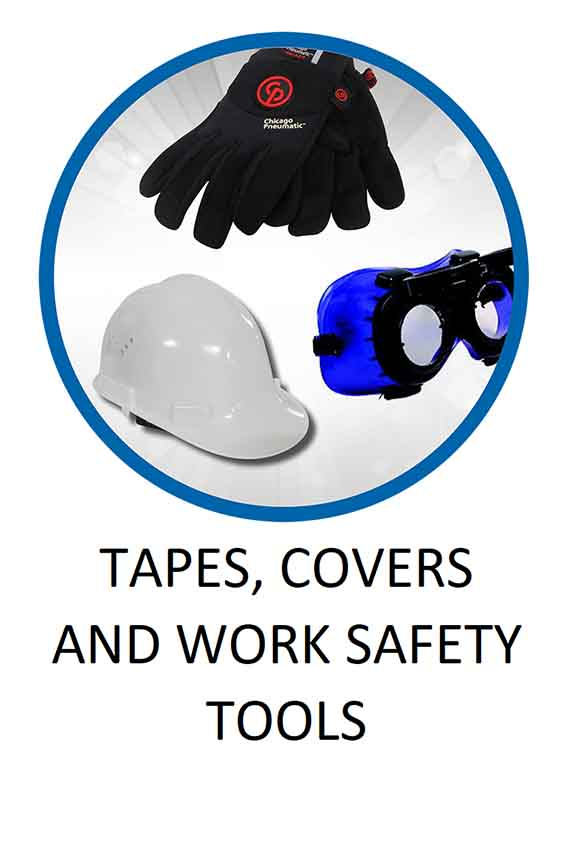 Tapes Covers and Work Safety Tools