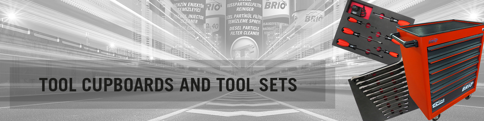 BRIO Europe Tool Cupboards and Tool Sets