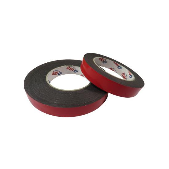 Double Sided Foam Tape 19 mm x 5 M Black