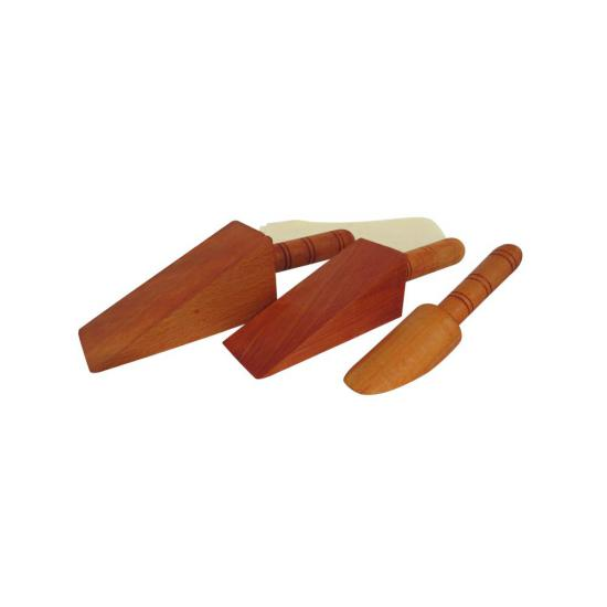 3 Piece Wooden Soldering Wedge Set