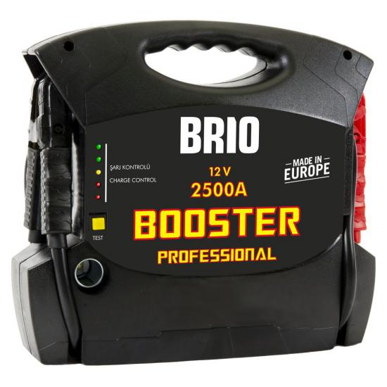 Professional Start Booster 12V 2500A
