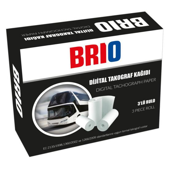 Digital Tachograph Paper Roll (3 Pieces)
