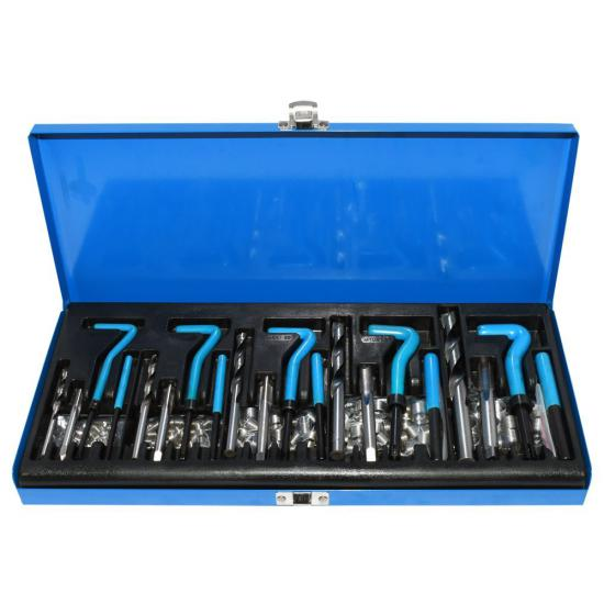 130 Piece Thread Repair Kit M5-M12