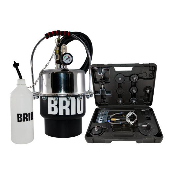 Pneumatic Pressure Brake Bleeder Set