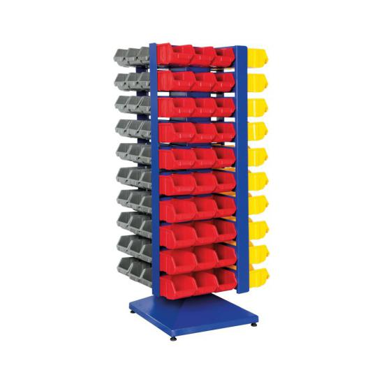 İndustrial Bin Storage with 120 Bins 710x710x1750