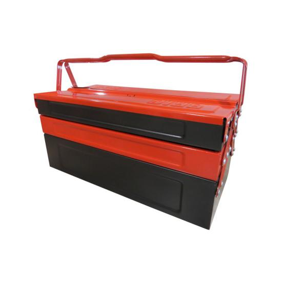 Empty Toolbox with 5 Cantilever Tray 420 mm