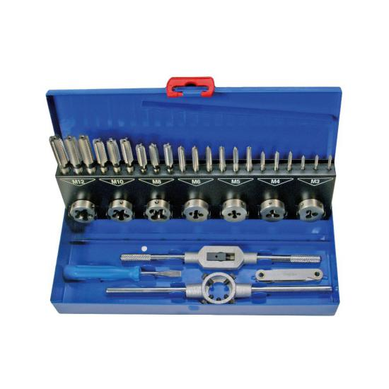 32 Piece Tap and Die Set M2-M12