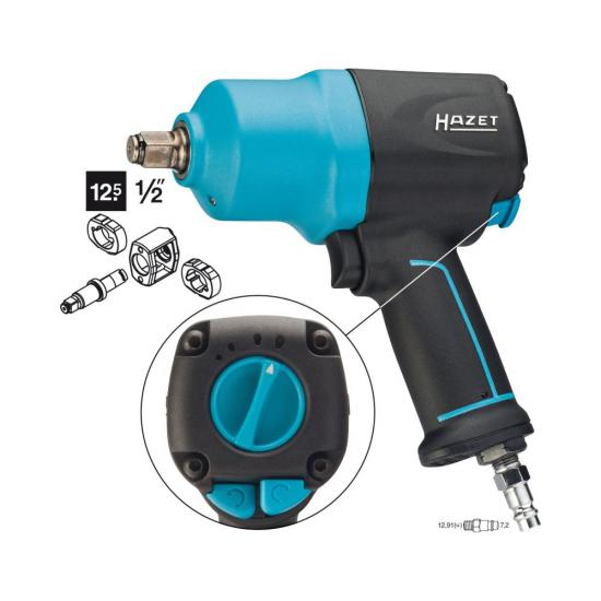 Pneumatic Impact Wrench 1/2 1700Nm