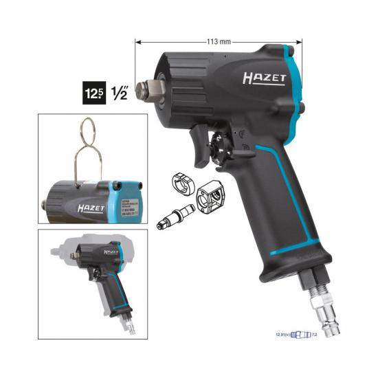 Pneumatic Impact Wrench 1/2 1100Nm